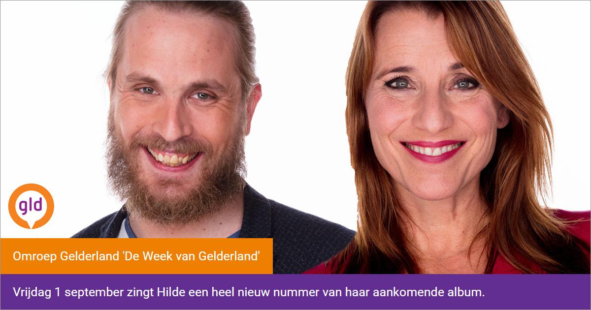 Hilde live bijwonen bij Omroep Gelderland